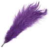 "Ostrich Drab Feathers 6-8"" Premium Quality Purple"